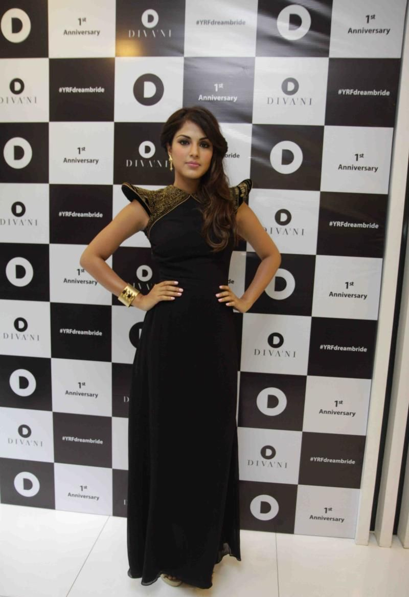 Rhea Chakraborty At Divani 1st Anniversary In Mumbai
