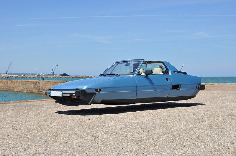 10 Flying Versions of Modern Cars