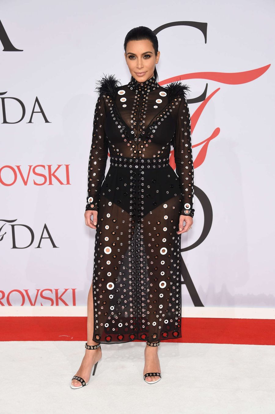 Maternity Wear! Kim Kardashian at CFDA Fashion Awards