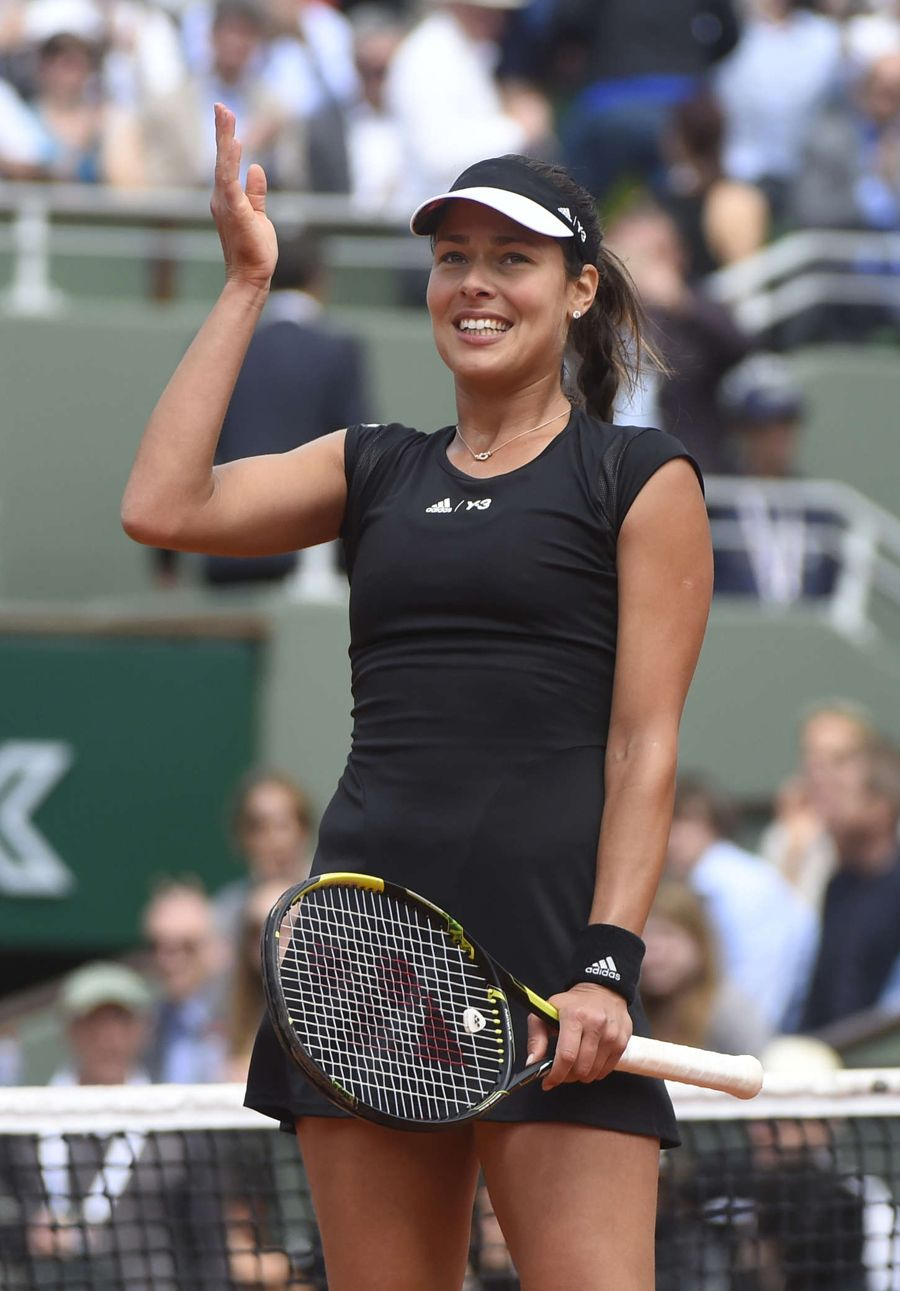 Ana Ivanovic, 2008 French Open Champion, Calm in Wind