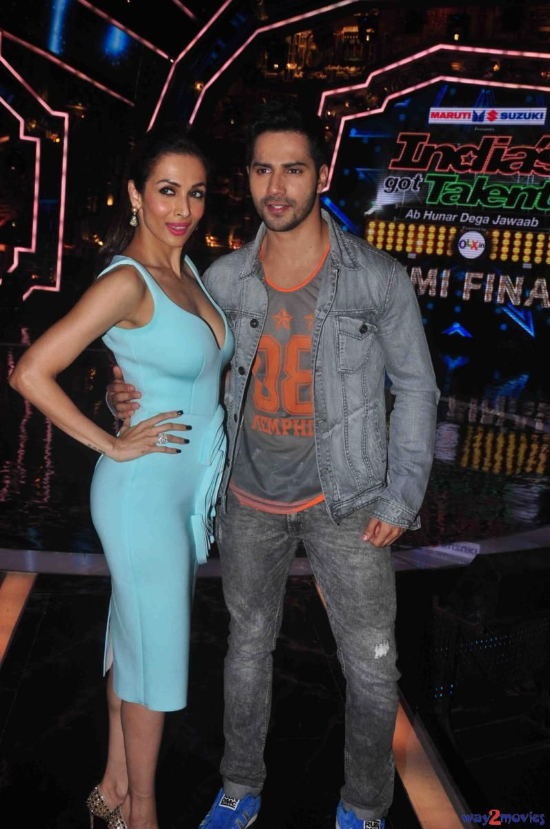 ABCD 2 Promotions on Sets of India Got Talent Photos