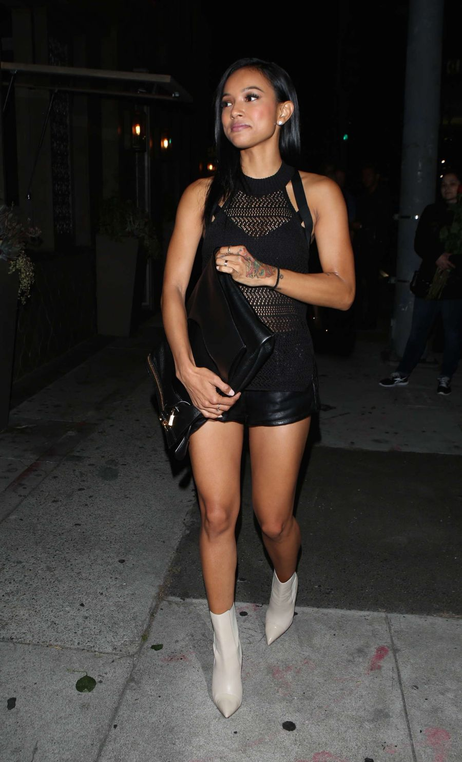 Karrueche Tran - Night out in LA