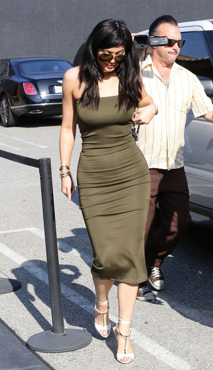 Kylie Jenner at Maxfeid in West Hollywood