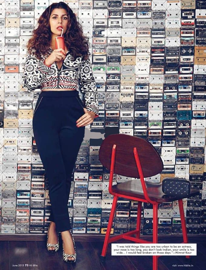 Nimrat Kaur's PhotoShoot for Hi-Blitz Magazine June 2015