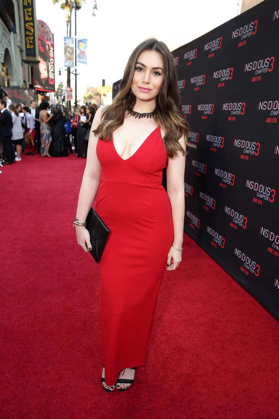 Sophie Simmons - 'Insidious: Chapter 3' Premiere