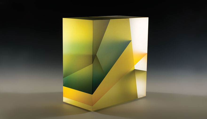 Translucent Glass Sculptures Inspired By Cell Division