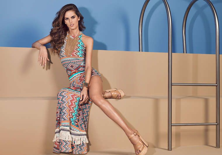 Izabel Goulart - Studio F Colombia High (Summer 2015)