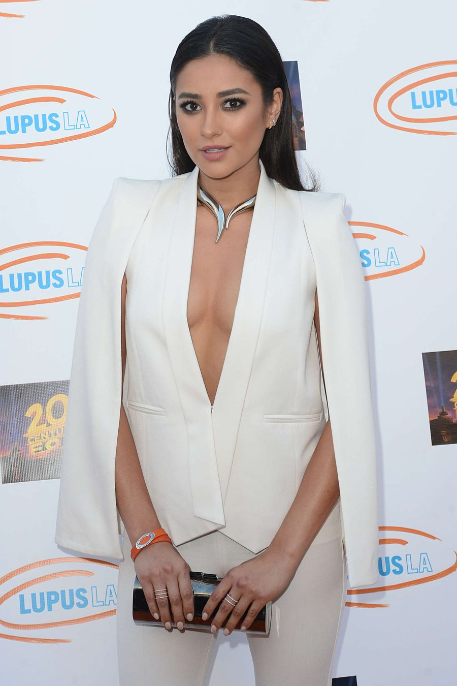 Shay Mitchell - Lupus LA Orange Ball And A Night