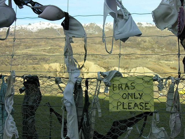 This Bra Fence Spurred Some Controversy