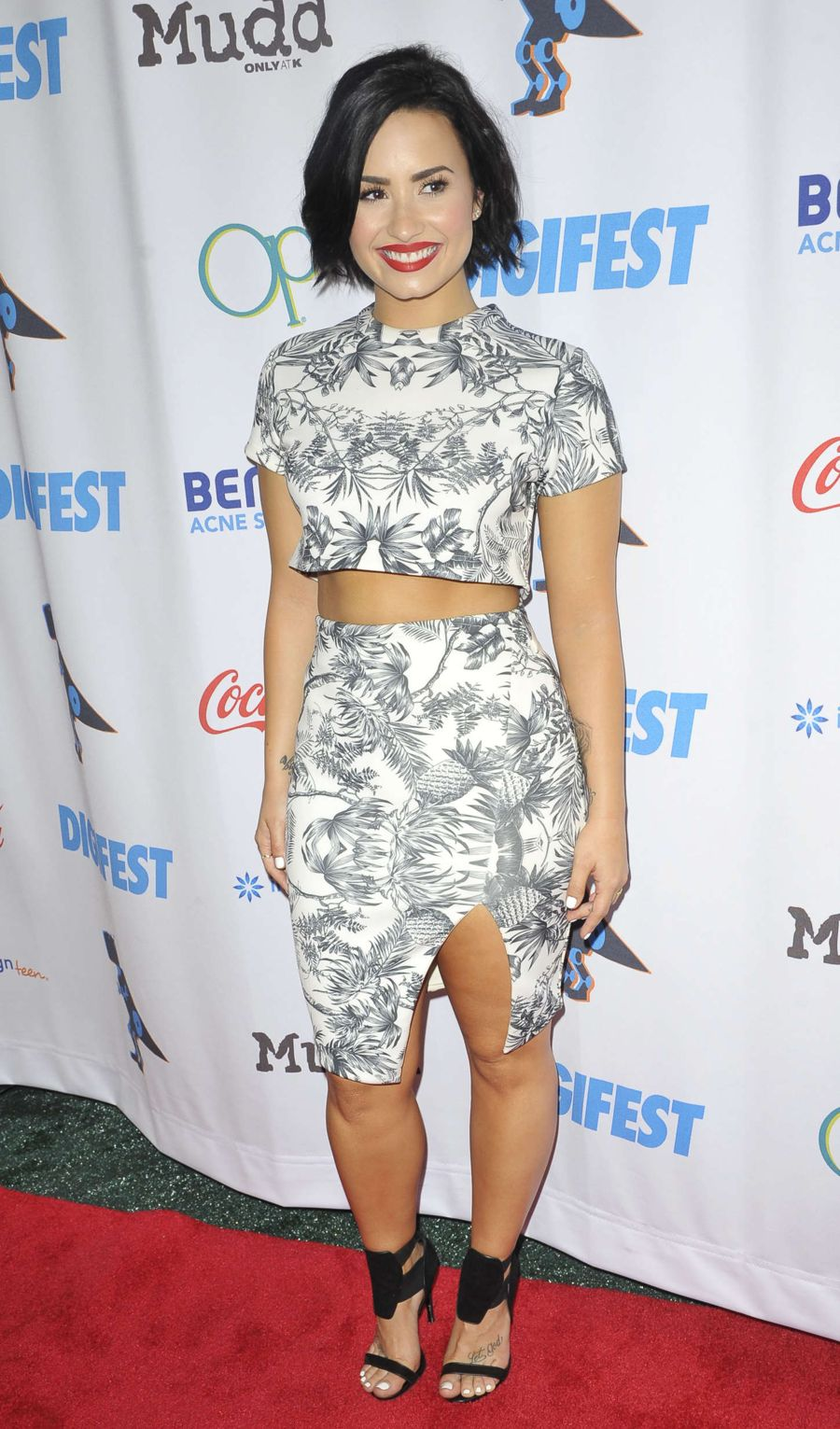 Demi Lovato - DigiFest NYC 2015 in NYC