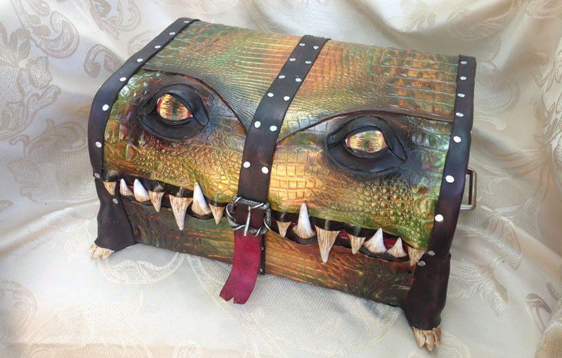This Woman Turns Boxes and Bags Into Monsters