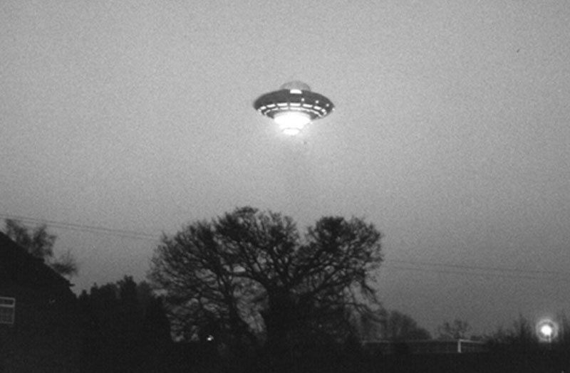 Flying a UFO Over London in an ET Costume
