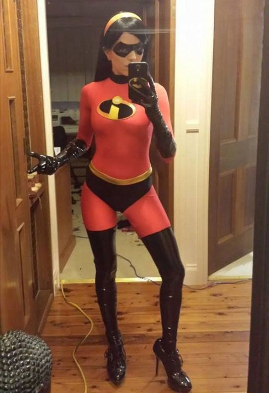 Girls in Costumes Born With Superpowers