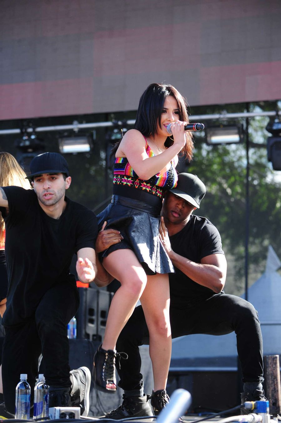 Becky G - Performing at LA Pride in West Hollywood