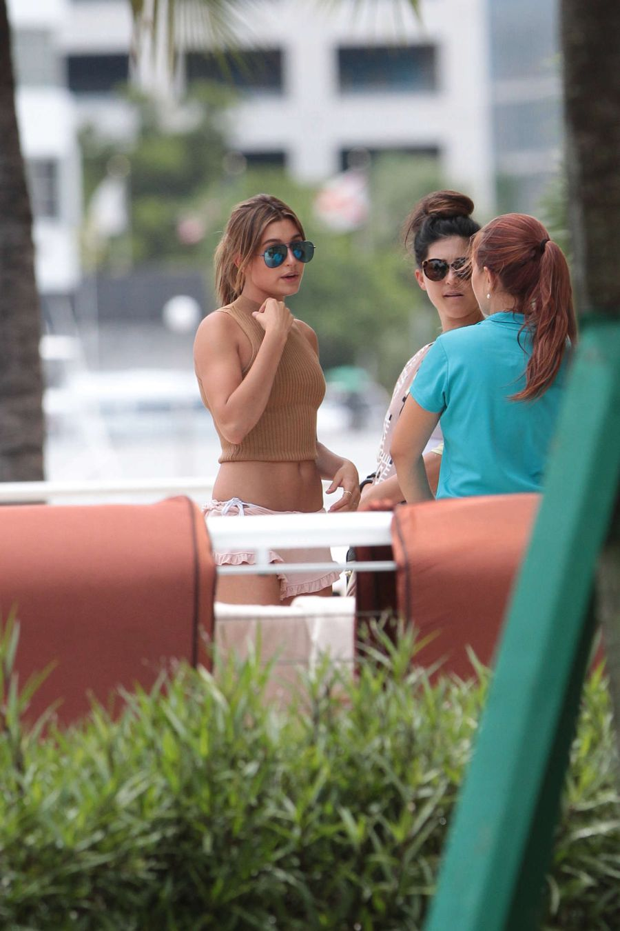 Justin Bieber's Girlfriend Hailey Baldwin in Miami