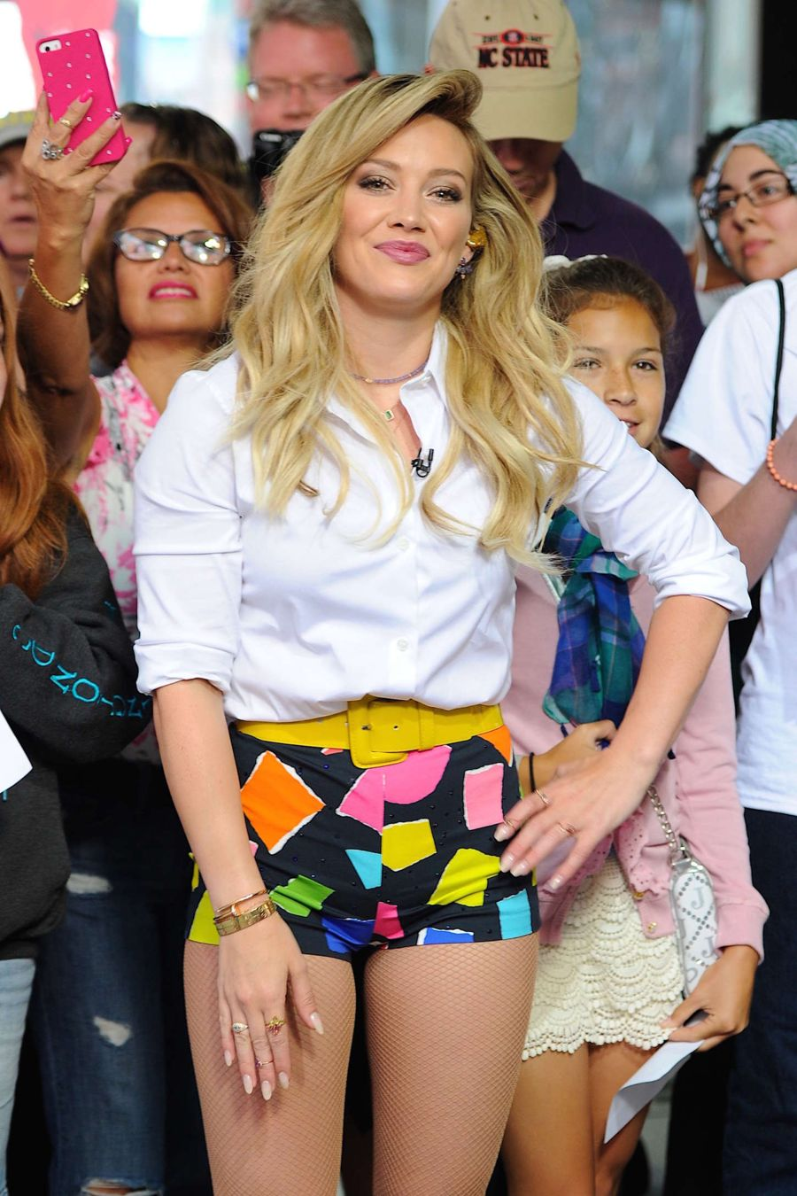 Hilary Duff - 'Good Morning America' in NYC