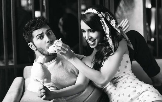 Varun Dhawan and Shraddha Kapoor Photoshoot for Filmfare