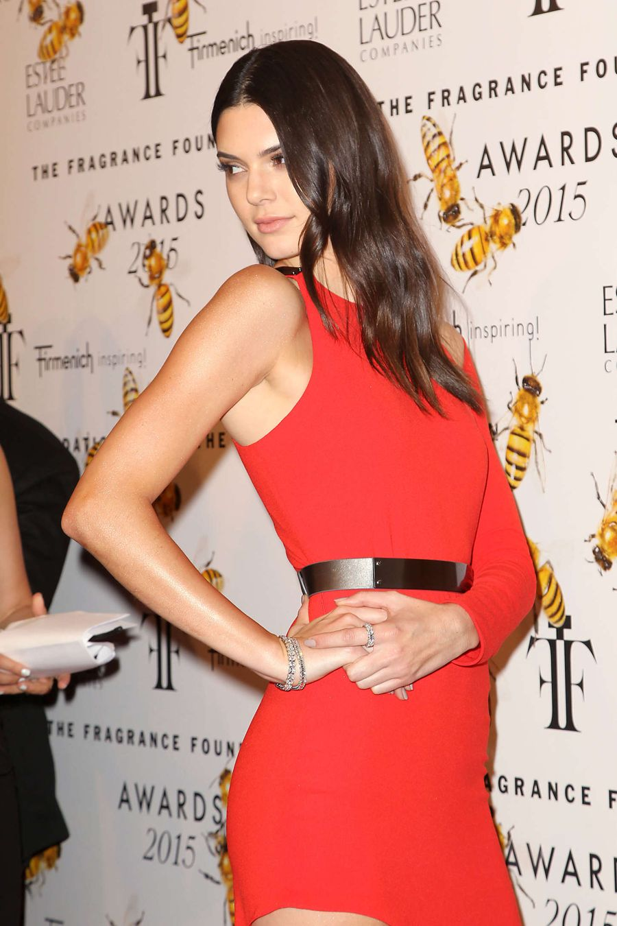 Kendall Jenner at 2015 Fragrance Foundation Awards