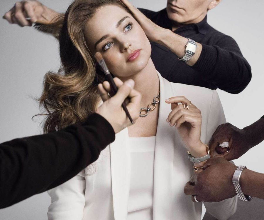Swarovski Fall/Winter Campaign featuring Miranda Kerr