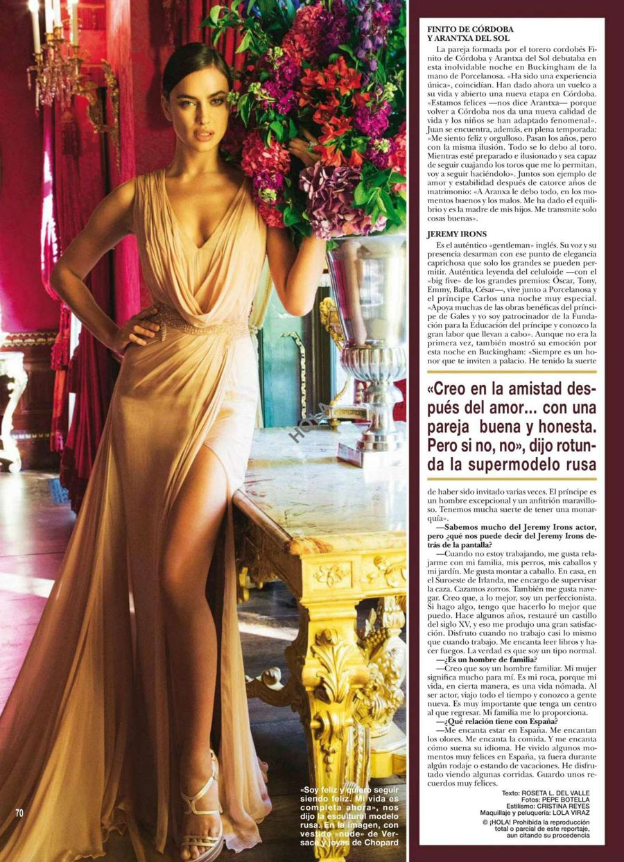 Irina Shayk - Hola Spain Magazine (June 2015)