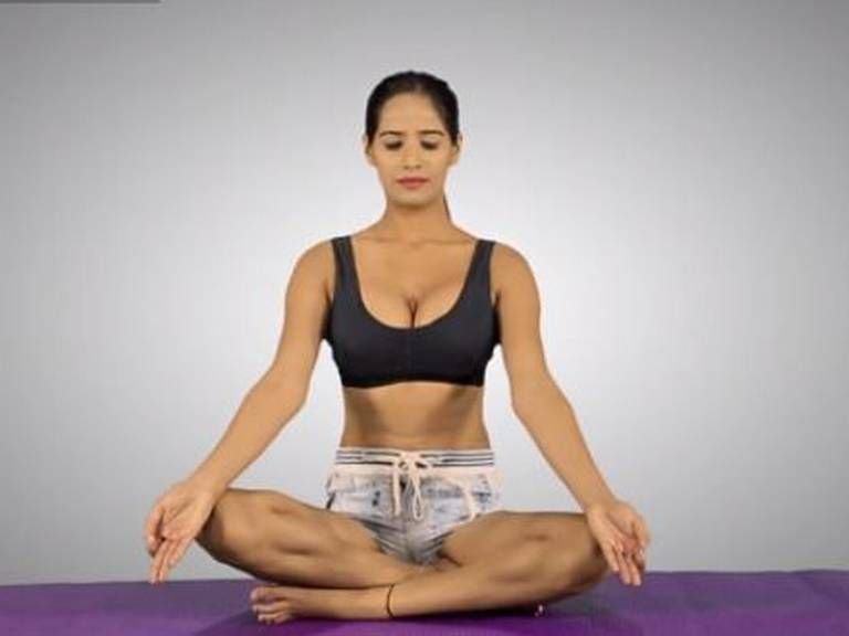 Poonam Pandey Tries To Crash The Modi Yoga Party