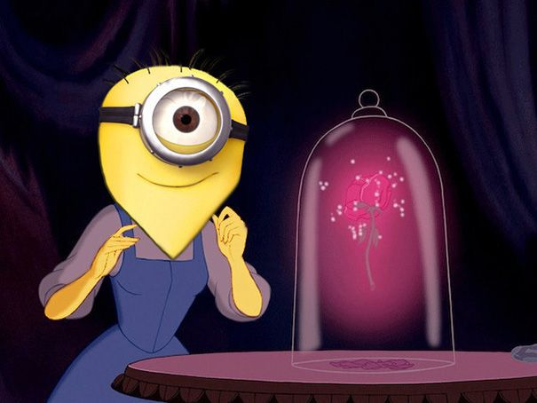 "What If Disney Princesses Were ""Minions""?"