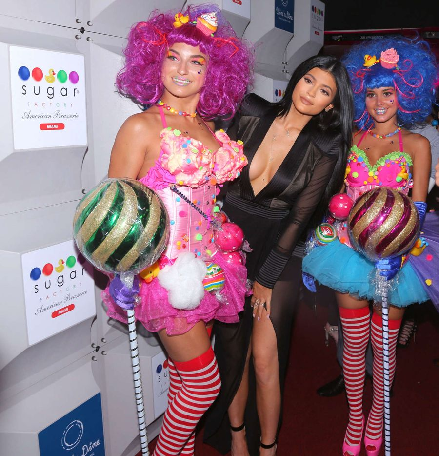 Kylie Jenner - Sugar Factory opening in Miami Beach