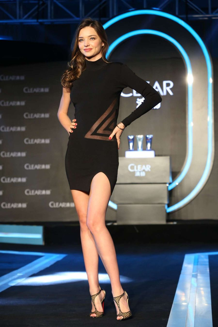 Miranda Kerr - Clear Scalp & Hair Promotional Event