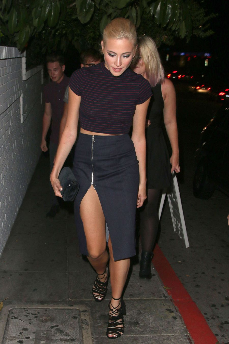 Pixie Lott - Chateau Marmont in West Hollywood