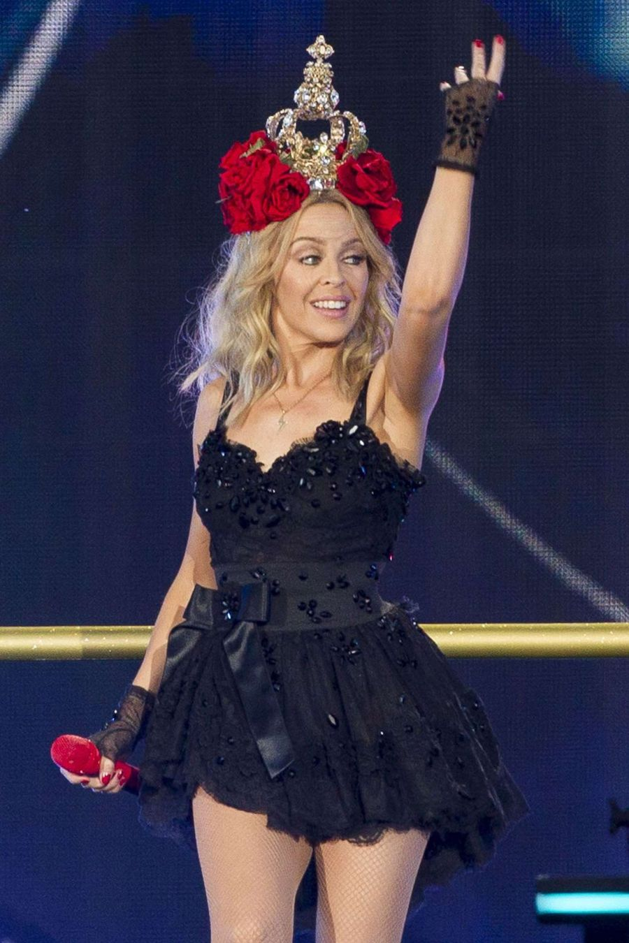 Kylie Minogue Performs at British Summer Time Festival