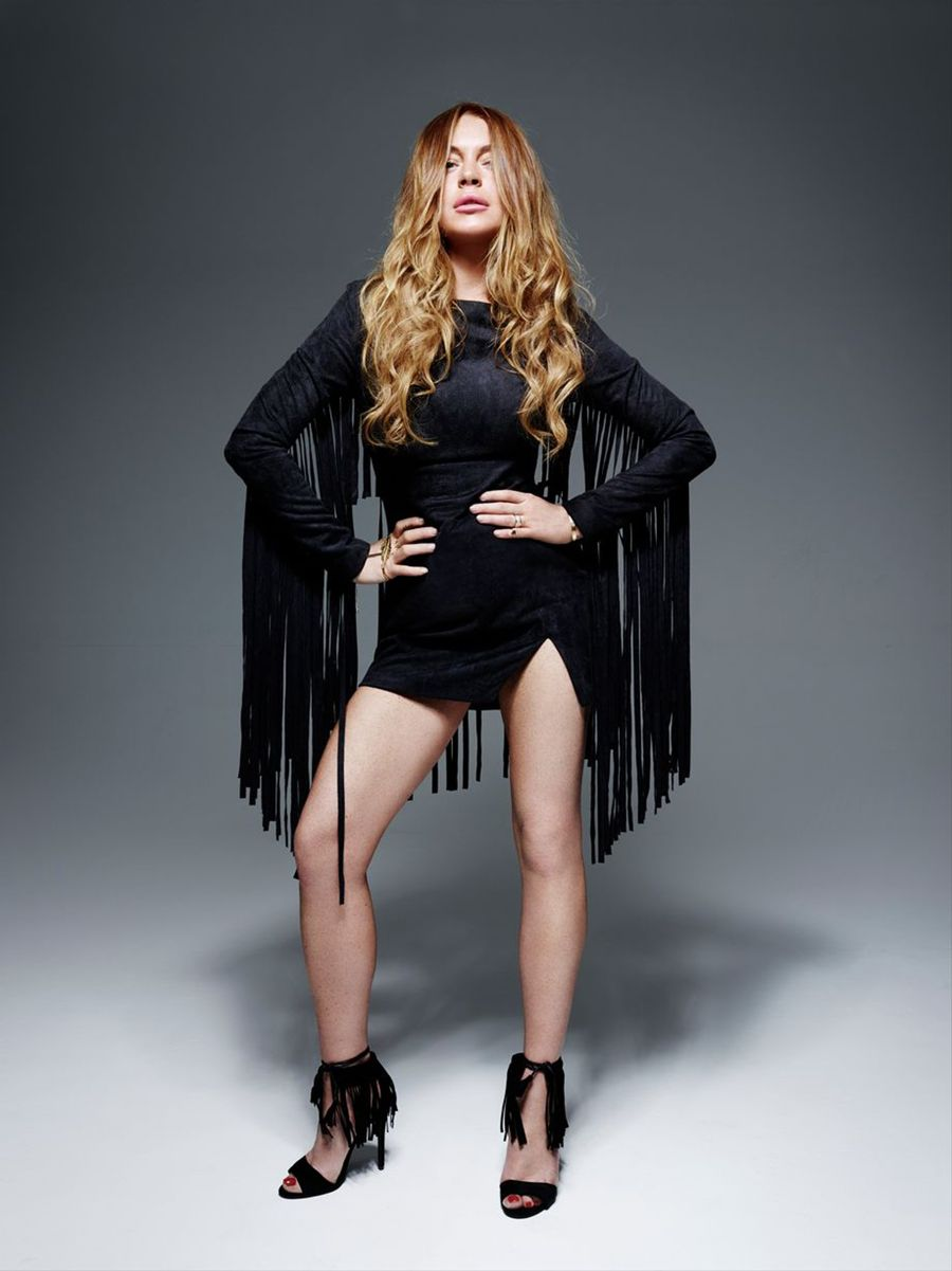 Lindsay Lohan - Lavish Alice Photoshoot (June 2015)