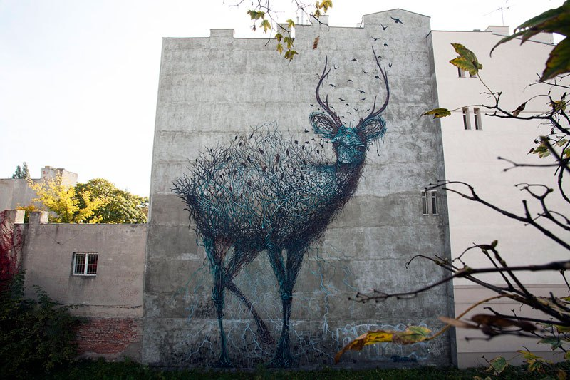 The Incredible Street Art of DALeast