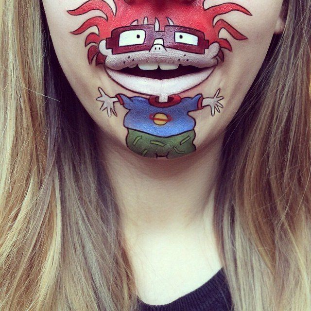 Cartoon Lip Art By Laura Jenkinson