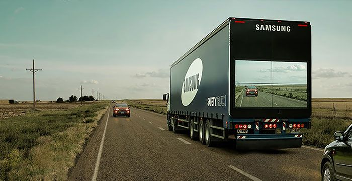 Samsung's 'Safety Truck' Shows The Road Ahead