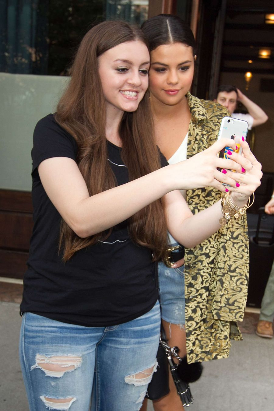 Selena Gomez - Leaving the Greenwich Hotel in NYC