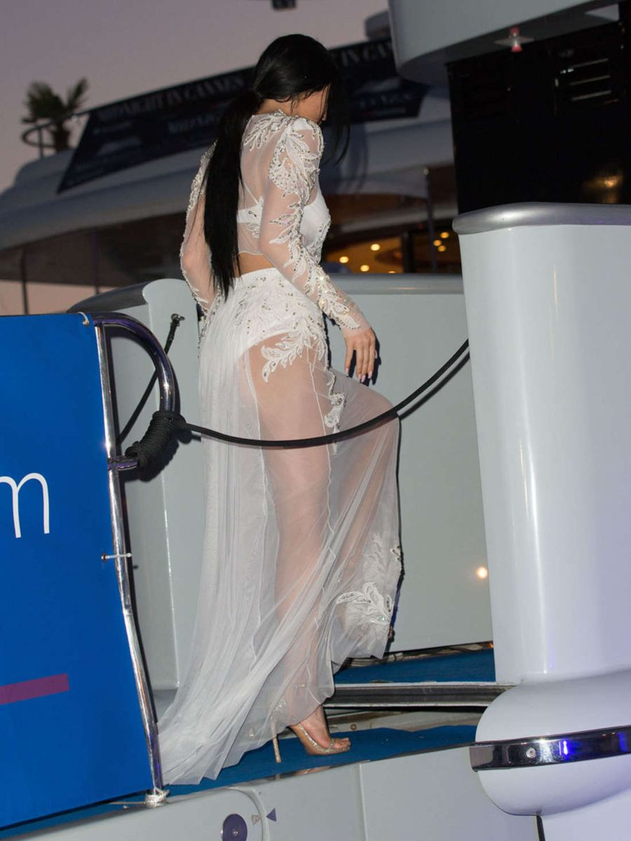 Kylie Jenner - DailyMail Yacht Party in Cannes