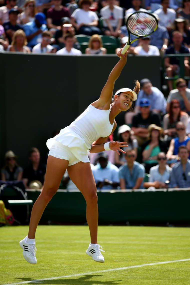 Ana Ivanovic breezes past Yi-Fan at Wimbledon 2015
