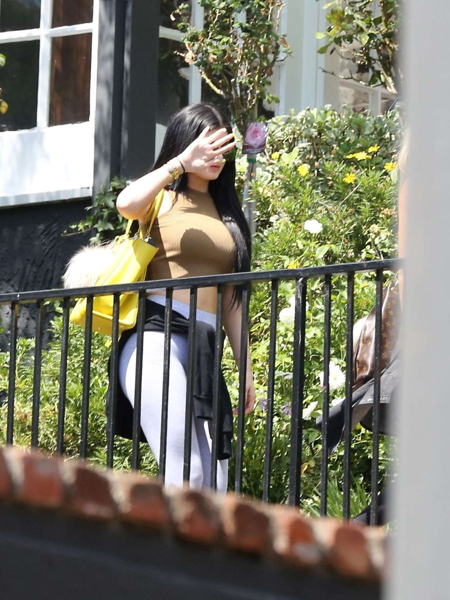 Kylie Jenner - Leaving a friend's house in Beverly Hills