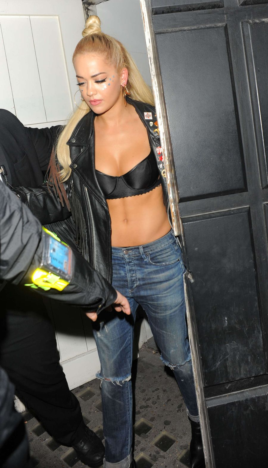 Rita Ora - Leaving Libertine nightclub in London