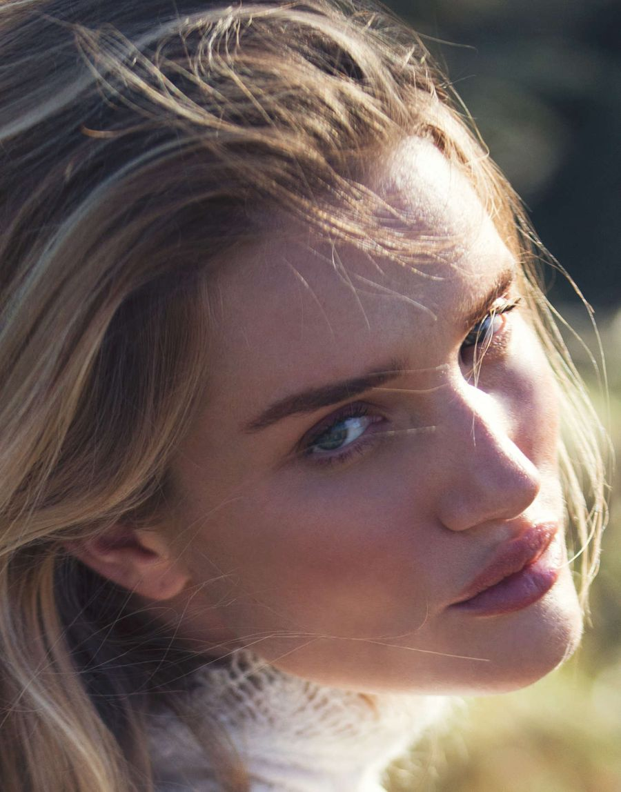 Rosie Huntington by David Bellemere for 'The Edit'