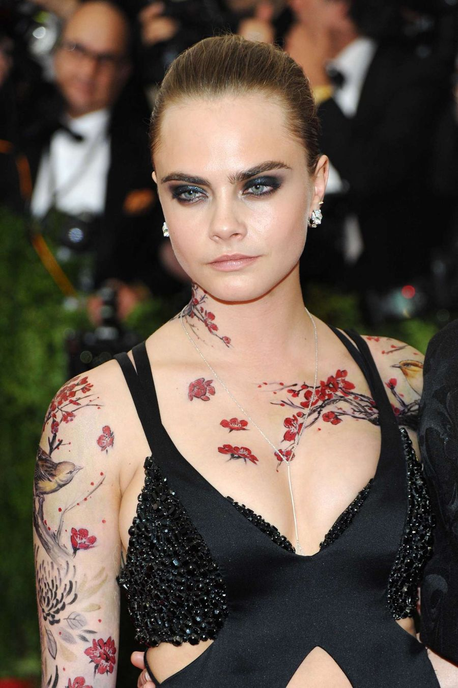 Inkmaster Transforms Cara Delevingne Into Asian-Canvas