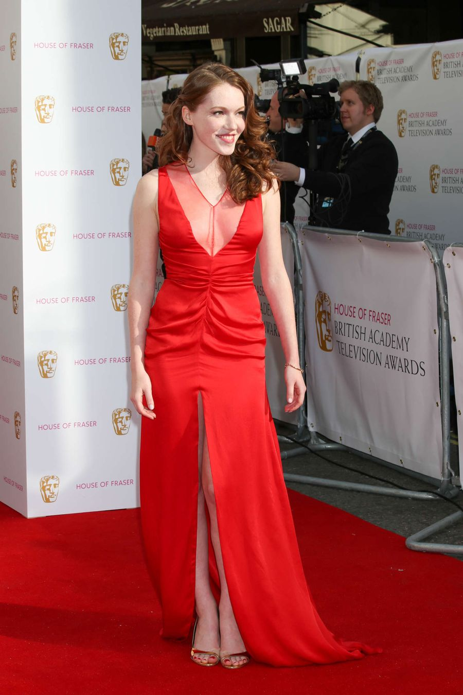 Charlotte Spencer - BAFTA Awards 2015 in London