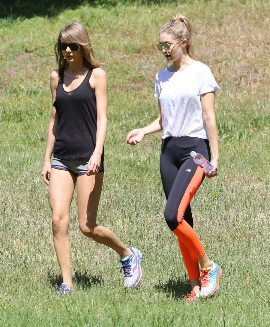 Taylor Swift and Gigi Hadid Take a walk in Beverly Hills