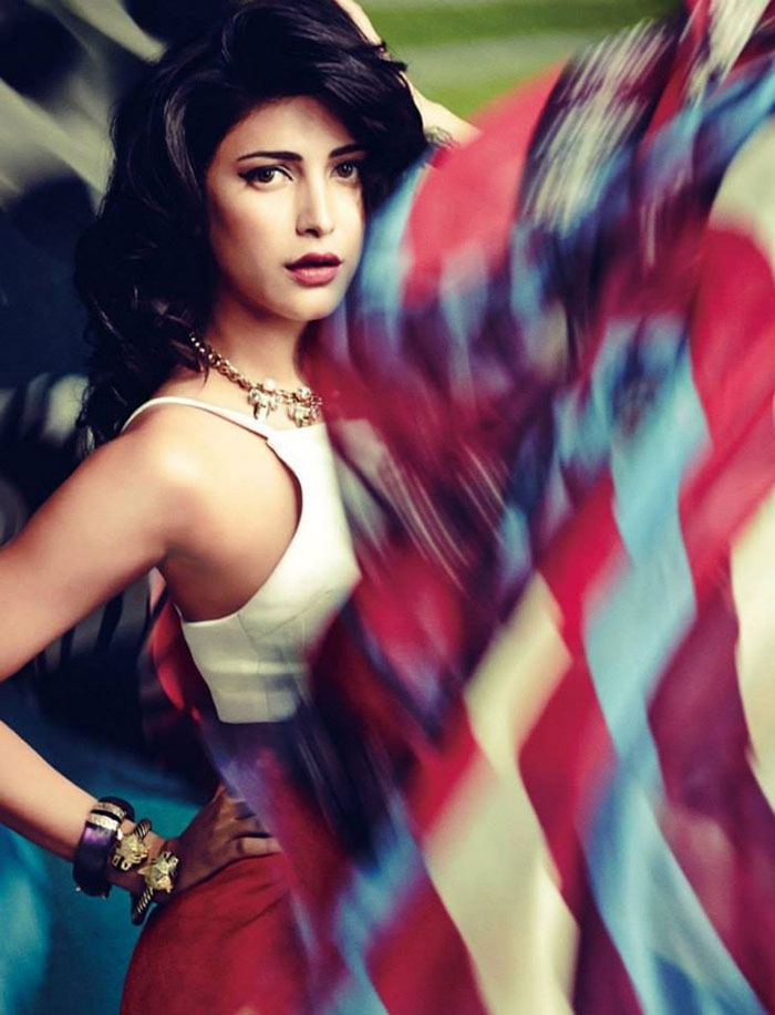 Shruti Hassan Photoshoot For Cineblitz Magazine