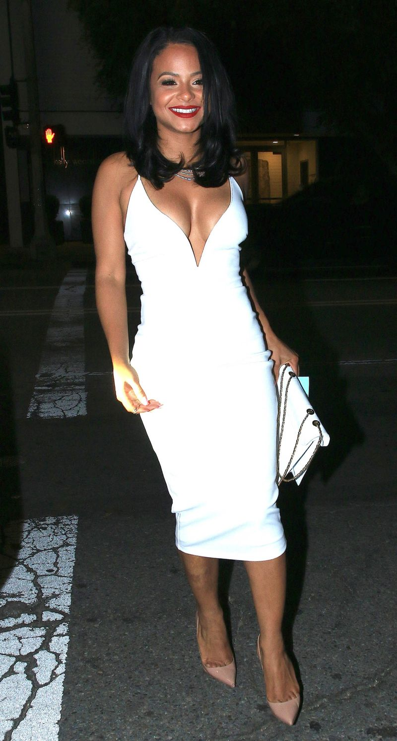 Christina Milian - Karrueche Trans 27th birthday party