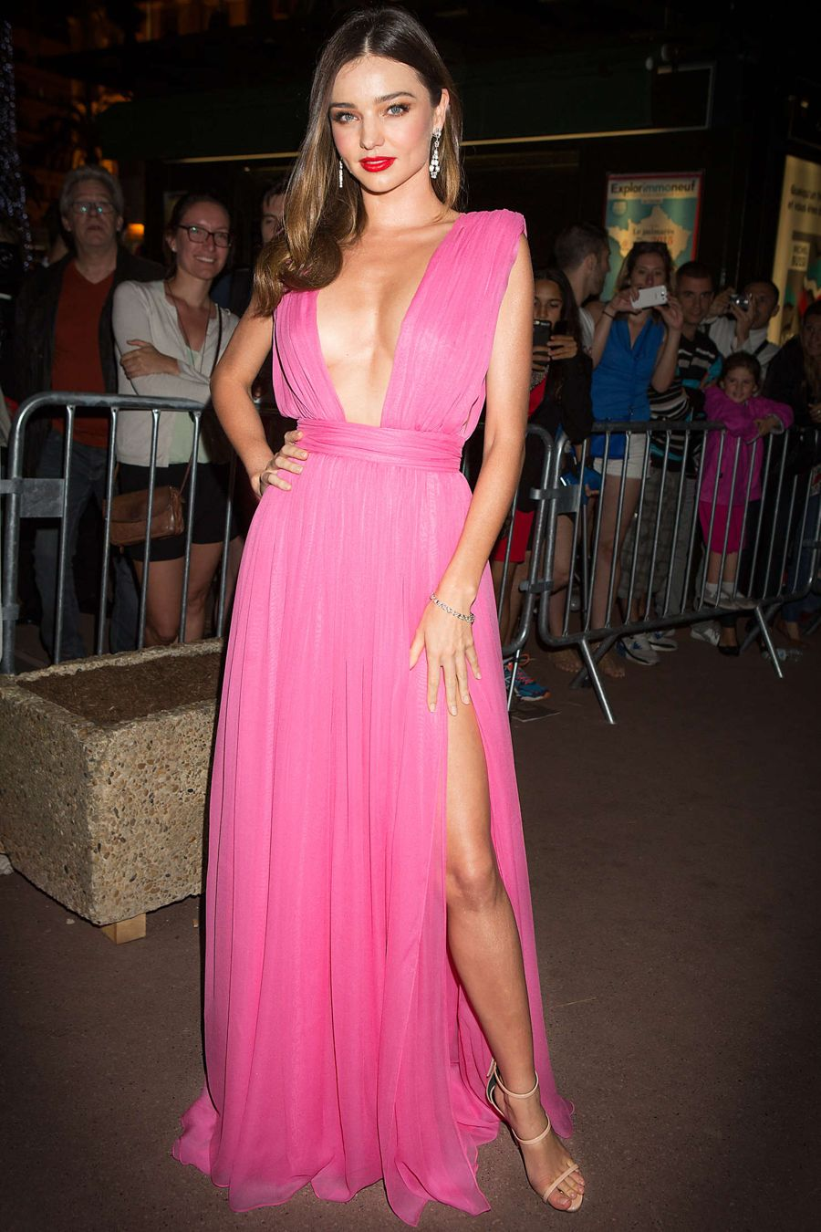 Miranda Kerr - Magnum 'Pink and Black' Party in Cannes