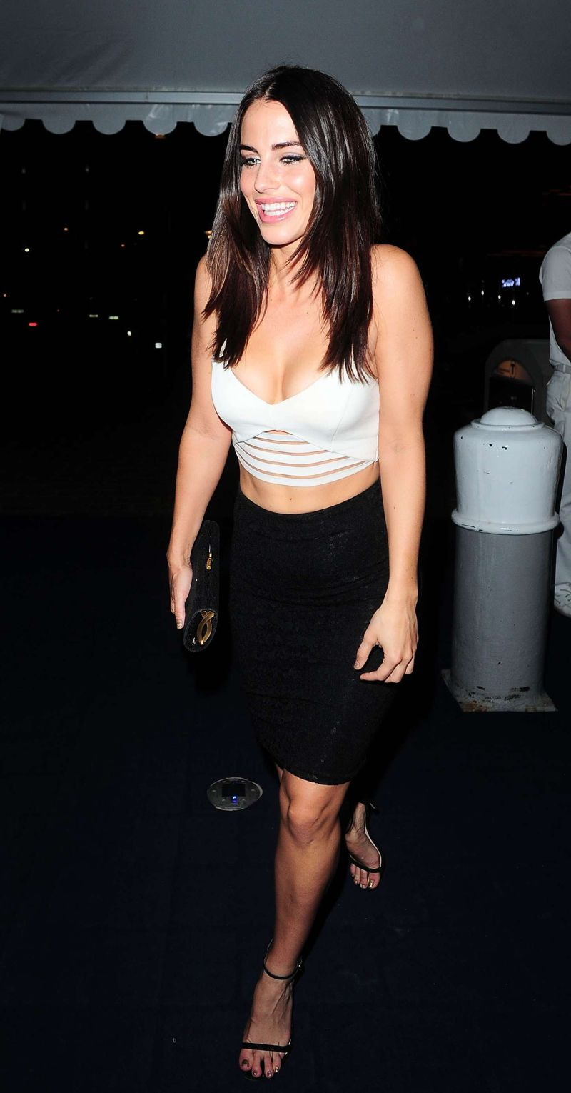Jessica Lowndes - Leaving a Party at The Cannes
