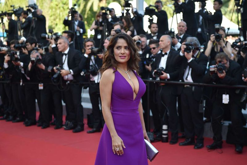 Salma Hayek Rocco and His Brothers Premiere