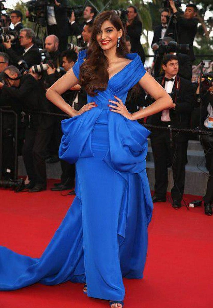 Sonam walks the Red Carpet at 68th Cannes Film Festival