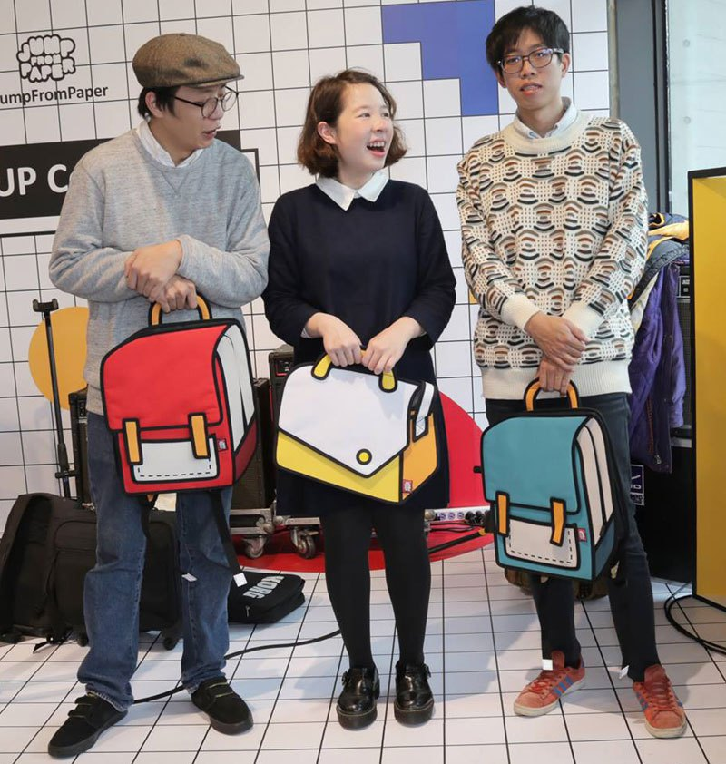 These 100% Real Cartoon Bags Look Photoshopped